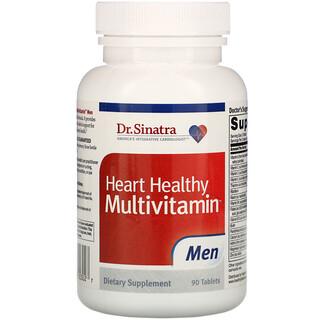 Dr. Sinatra, Heart Healthy Multivitamin, Men, 90 Tablets