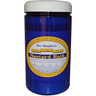 Dr. Singha's, Mustard Bath, 32 oz (907g)