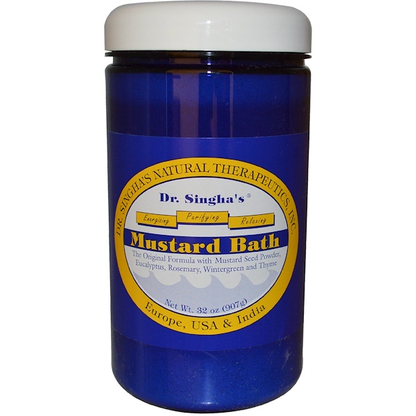 Dr. Singha's, Mustard Bath, 2 lbs (907g) (Discontinued Item)