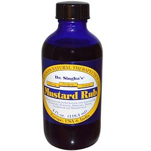 Доктор Сингхас, Mustard Rub, 4 fl oz (118.4 ml) отзывы покупателей