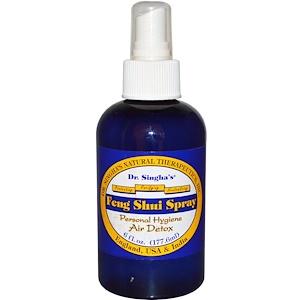 Доктор Сингхас, Feng Shui Spray, Personal Hygiene Air Detox, 6 fl oz (177.6 ml) отзывы