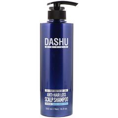 Dashu, 減少頭髮掉落頭皮護理洗髮水,16.9 盎司(500 毫升)