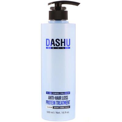 Dashu Средство против выпадения волос с протеином, 16,9 унции (500 мл)