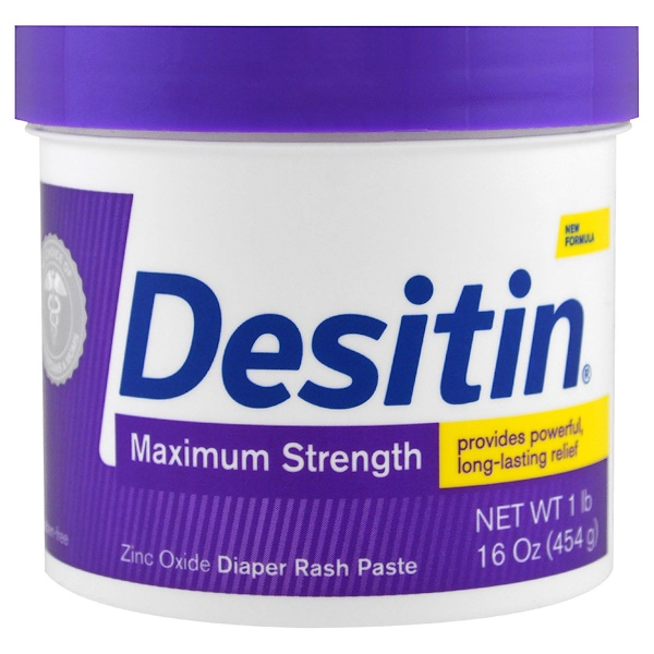 Desitin, Diaper Rash Paste, Maximum Strength, 16 oz (454 g) (Discontinued Item)