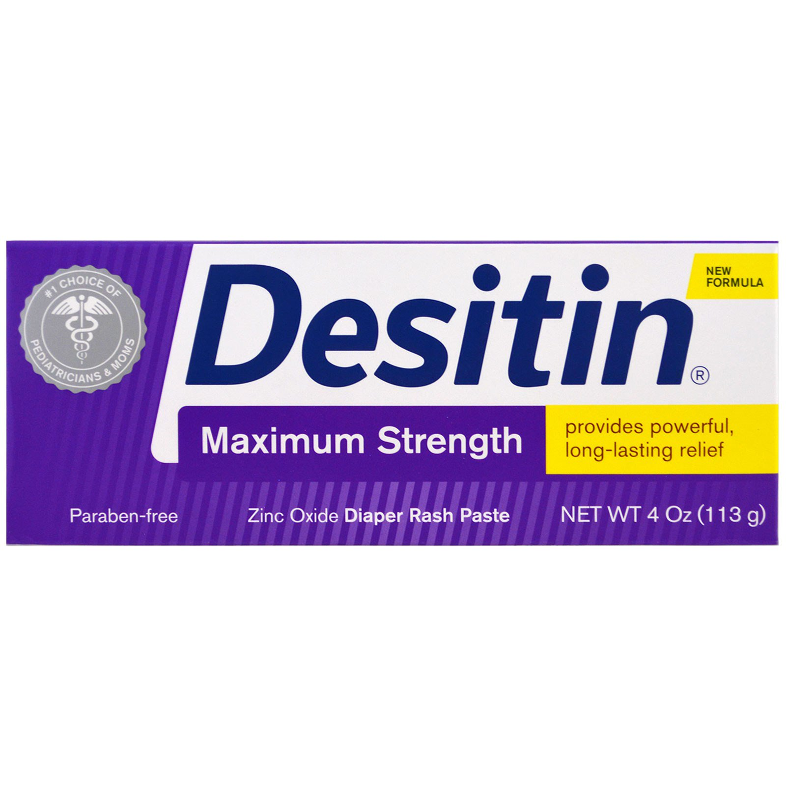 Desitin 3 Pack Max Strength Fast Color Diapering