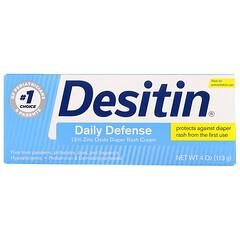 Desitin, ダイパーラッシュクリーム、デイリーディフェンス、113 g