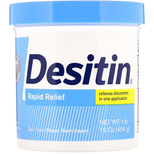Rapid Relief Cream, 16 oz (453 g)