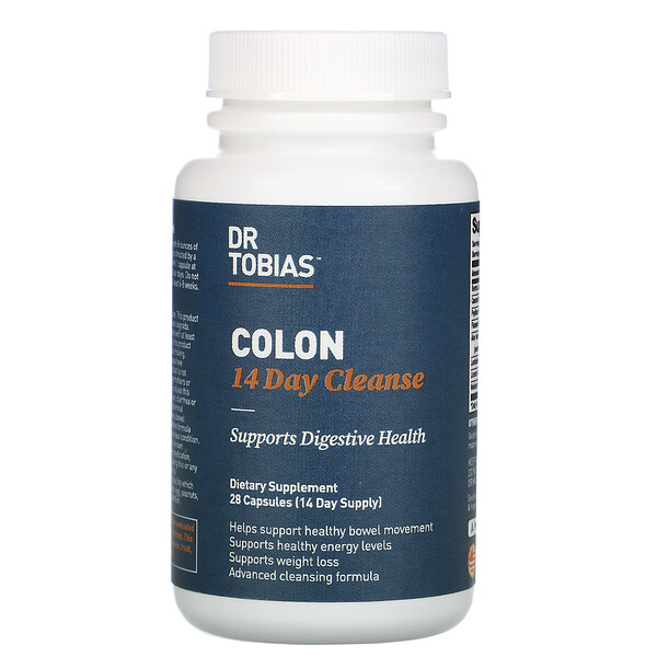 Dr. Tobias, Colon 14 Day Cleanse, 28 Capsules