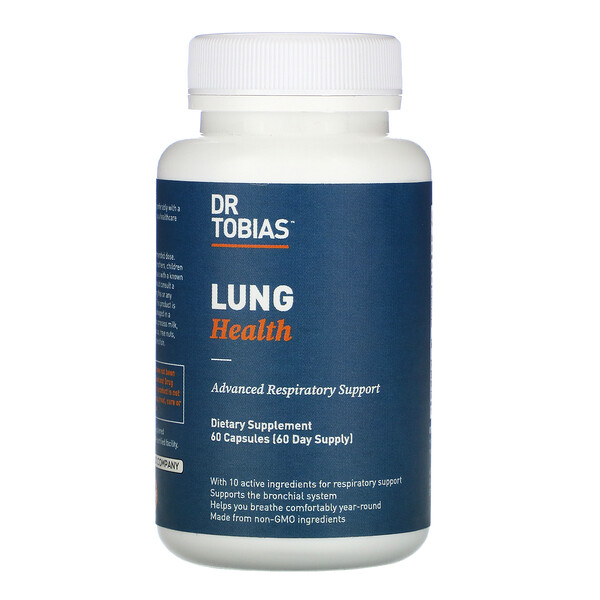Lung Health, 60 Capsules