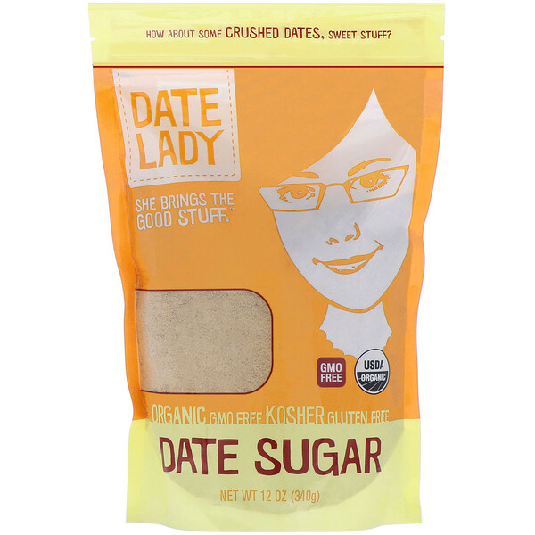 Date Lady, Date Sugar, 12 oz (340 g)