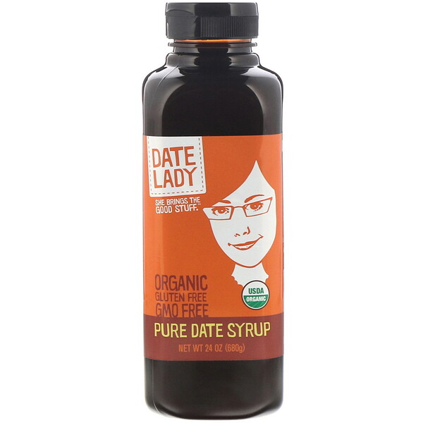 Date Lady , Pure Date Syrup, 24 oz (680 g)