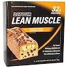 Detour, Lean Muscle Bars, Cookie Dough Caramel Crisp, 12 Bars, 3.2 oz (90 g) Each