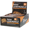 Detour, Lean Muscle Bar, Cookie Dough Caramel Crisp, 12 Bars, 3.2 oz (90 g) Each