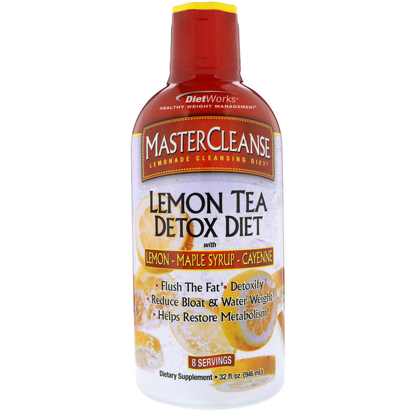 DietWorks, MasterCleanse, Lemon Tea Detox Diet, 32 fl oz (946 ml) (Discontinued Item)