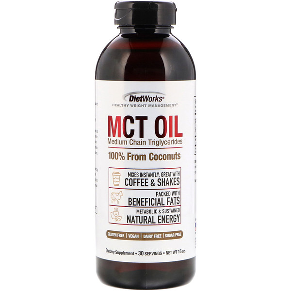 DietWorks, MCT Oil, 16 oz