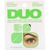 DUO, 假睫毛胶水刷,白色/透明,0.18 盎司(5 克)