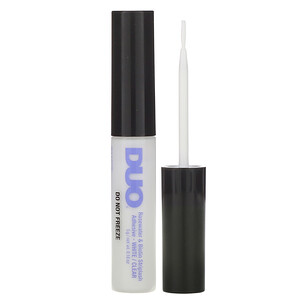 DUO, Rosewater & Biotin Striplash Adhesive, White/Clear, 0.18 oz (5 g) отзывы