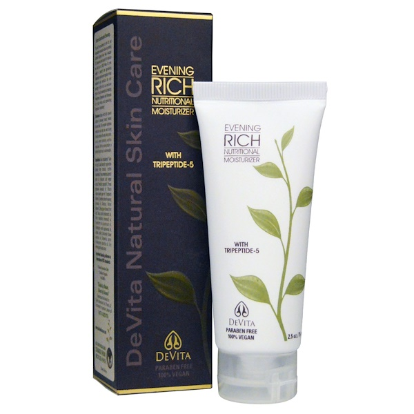 DeVita, Evening Rich Nutritional Moisturizer, 2.5 fl oz (75 ml) (Discontinued Item)