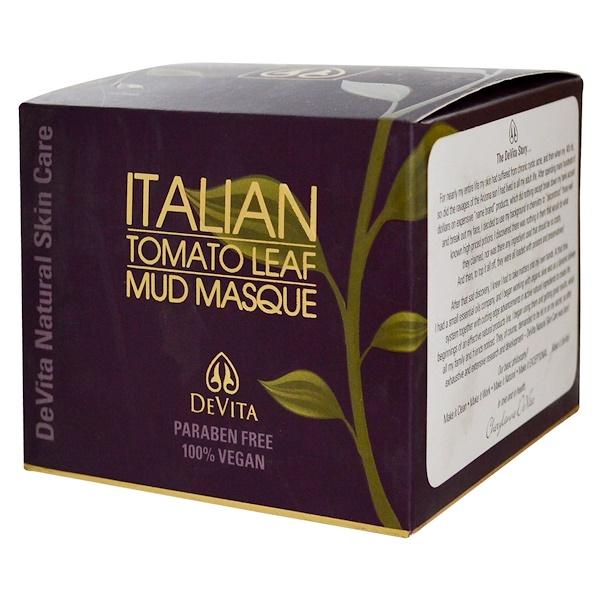 DeVita, Italian Tomato Leaf Mud Masque, 8 oz (240 g) (Discontinued Item)