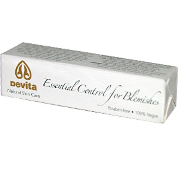 DeVita, Essential Control for Blemishes, 0.35 oz (10 ml) (Discontinued Item)