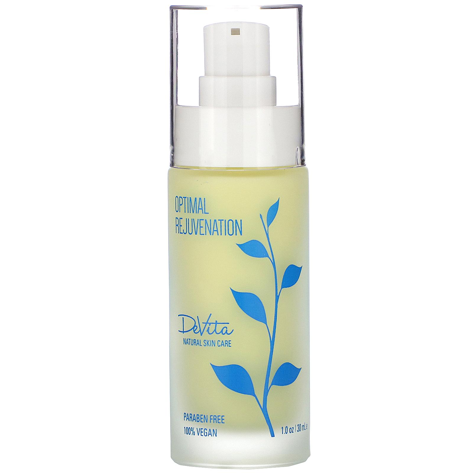 Devita Natural Skin Care Optimal Rejuvenation 1 Oz 30 Ml Iherb