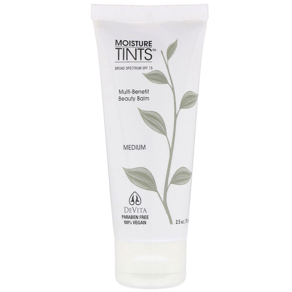 DeVita, Moisture Tints, SPF 15, Medium, 2.5 oz (75 ml)