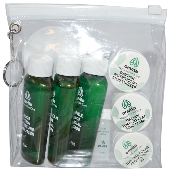 Try-Me Kit Anti-Aging Devita 1 Kit Leaders, Too Much Fun in the Sun?, Soothing & Calming Mask, 1 Mask, 0.84 fl oz (pack of 12)