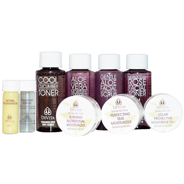 DeVita, Try-Me Kit!, Anti-Aging Solution, 9 Piece Kit
