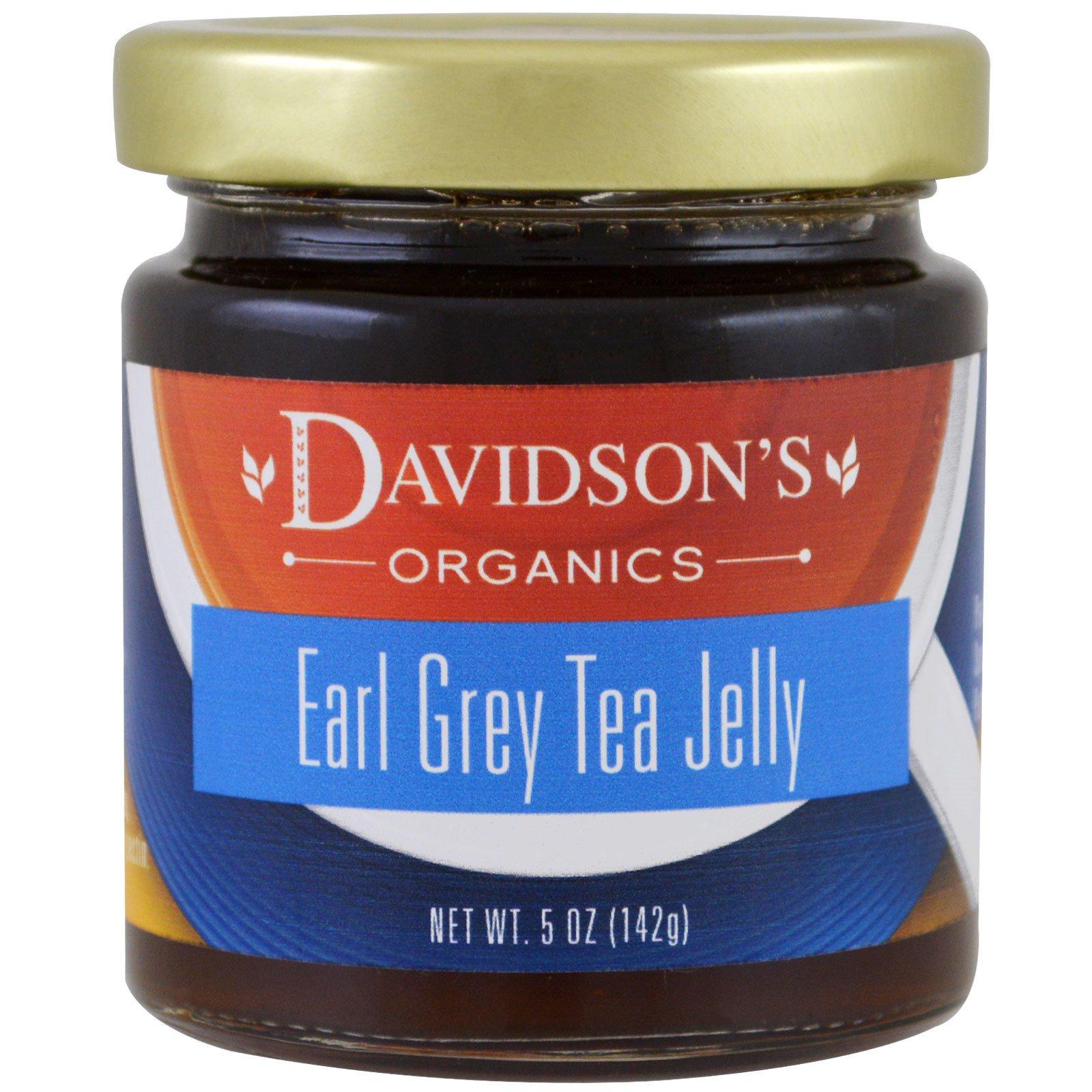 Davidson's Tea, Органический джем из чая Эрл Грей, 142 г (5 унций)