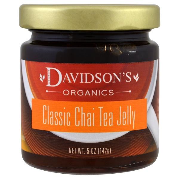 Davidson's Tea, オーガニック, クラシックチャイティーゼリー, 5 oz (142 g) (Discontinued Item)