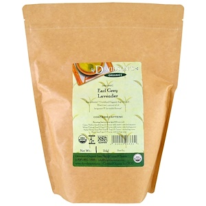 Дэвидсонс Ти, Organic, Earl Grey Lavender Tea, 1 lb отзывы покупателей