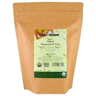 Davidson's Tea, Organic, Herbal Chamomile & Fruit Tea, Caffeine-Free, 1 lb
