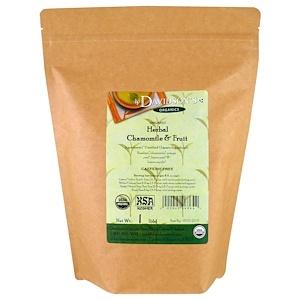Дэвидсонс Ти, Organic, Herbal Chamomile & Fruit Tea, Caffeine-Free, 1 lb отзывы