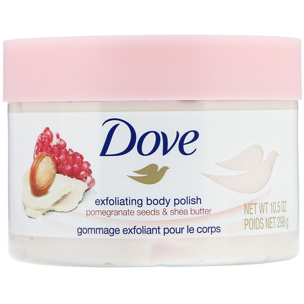 Exfoliating Body Polish, Pomegranate Seeds & Shea Butter, 10.5 oz (298 g)