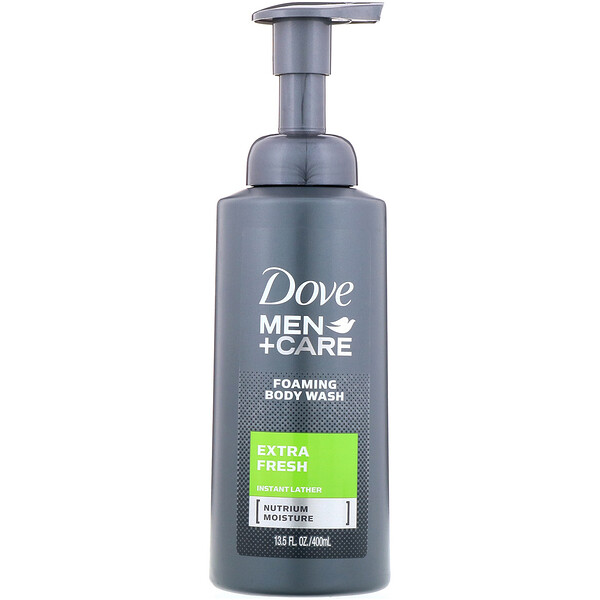 Dove, Men + Care, Foaming Body Wash, Extra Fresh, 13.5 fl oz (400 ml) (Discontinued Item)