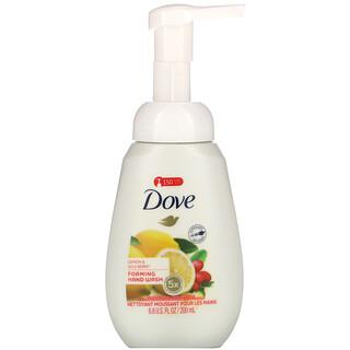 Dove, Foaming Hand Wash, Lemon & Goji Berry, 6.8 fl oz (200 ml)