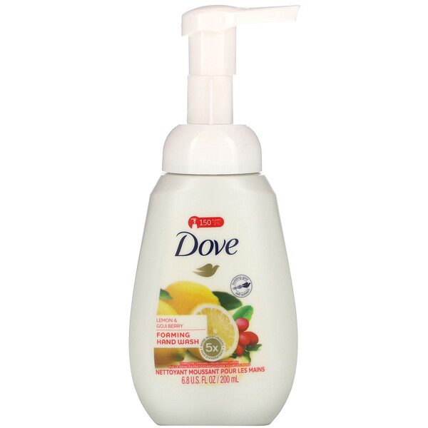 Foaming Hand Wash, Lemon & Goji Berry, 6.8 fl oz (200 ml)