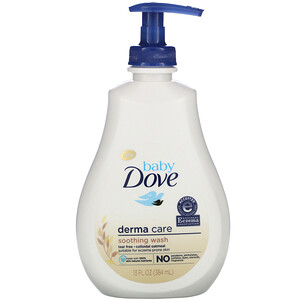 Dove, Baby Dove, Derma Care, Soothing Wash, 13 fl oz (384 ml)