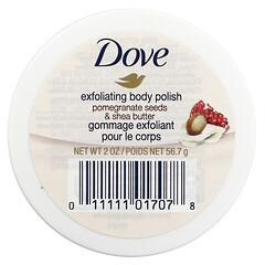 Dove, 去角質Rub-a-dub,石榴籽和乳木果油,2 盎司(56.7 克)