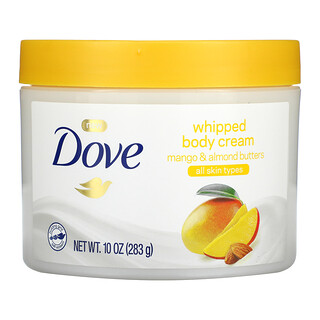 Dove, Whipped Body Cream, Mango & Almond Butters, 10 oz (283 g)