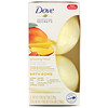 Dove, Nourishing Secrets, Bath Bombs, Mango and Almond, 2 Bath Bombs, 2.8 oz (79 g) Each