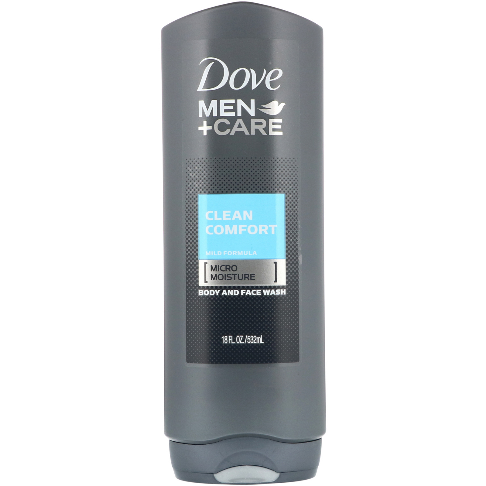 Dove Men Care Clean Comfort Body And Face Wash 18 Fl Oz 532 Ml Iherb