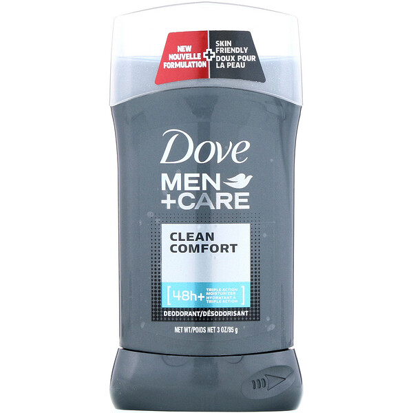 Dove, Men + Care، مزيل عرق، راحة نظيفة، 3 أونصة (85 جم)