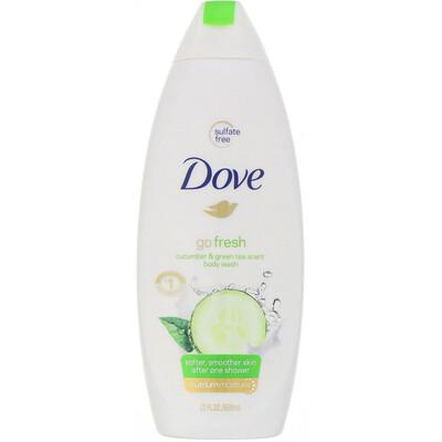 Купить Dove Гель для душа Go Fresh, аромат «Огурец и зеленый чай», 650мл