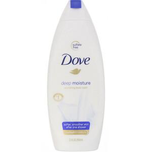 Dove, Deep Moisture, Nourishing Body Wash, 22 fl oz (650 ml) отзывы покупателей