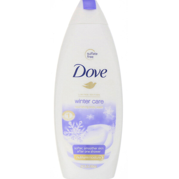 Dove, 冬季護理,滋養沐浴露,22 液量盎司(650 毫升) (Discontinued Item)