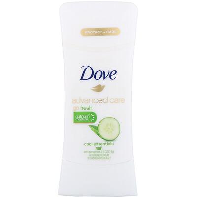Купить Dove Дезодорант-антиперспирант Advanced Care Go Fresh, аромат «Основы прохлады», 74г