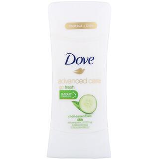 Dove, Advanced Care, Go Fresh, Anti-Perspirant Deodorant, Cool Essentials, 2.6 oz (74 g)