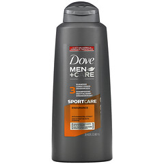 Dove, 男性護理,3 合 1 洗發水+護發素+ 香體露,運動護理型,20.4 液量盎司(603 毫升)