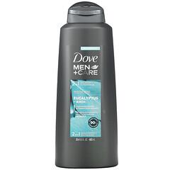 Dove, 男性 + 護理,2 合 1 洗髮水 + 護髮素,修復活力,桉樹 + 樺木,20.4 液量盎司(603 毫升)